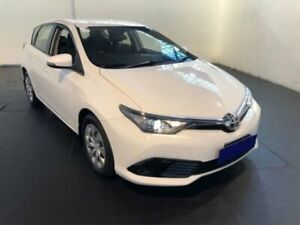 2015 Toyota Corolla ZRE182R Ascent Glacier White 7 Speed CVT Auto Sequential Hatchback Belmore Canterbury Area Preview