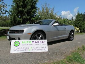 2013 Chevrolet Camaro RS, 2LT, AUTO, LEATHER, H/UP, V6, INSP, BC