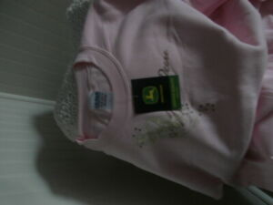 John Deer Pink Sweat Shirt