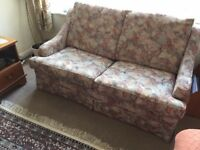 SOFA BED in good clean condition with mattress hardly used