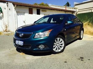 2013 Holden Cruze JH MY13 CDX Green 6 Speed Automatic Sedan Beckenham Gosnells Area Preview