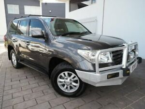 2008 Toyota Landcruiser UZJ200R Sahara Grey Sports Automatic Springwood Logan Area Preview