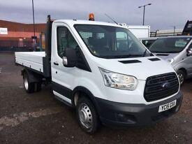 FORD TRANSIT 2.2 350 C/C DRW 1d 124 BHP 1 Owner Long Warranty (white) 2015