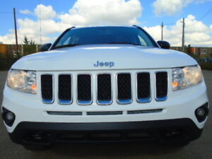 2011 JEEP COMPASS LIMITED SPORT PKG-4X4-LEATHER-NAVI-SUNROOF