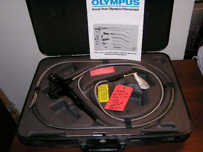 Olympus Industrial Fiberscope If11d4-30 In Original Hard Case With A80s Adapter