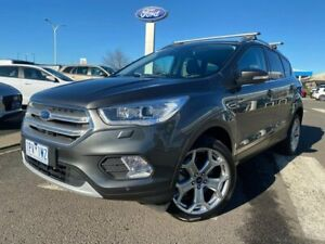 2019 Ford Escape ZG 2019.25MY Titanium PwrShift AWD Grey 6 Speed Sports Automatic Dual Clutch Wagon Kilmore Mitchell Area Preview