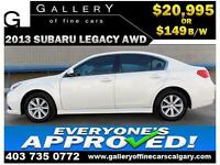 2013 Subaru  Legacy AWD $149 bi-weekly APPLY NOW DRIVE NOW