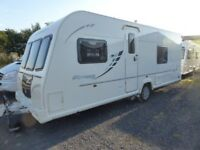 Bailey Olympus 534, 17ft 4 berth fixed bed,Alu-tec,mover,High spec.Mover