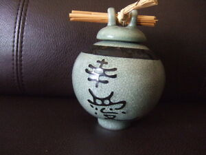 Zen Wishing Pot with clove and luck