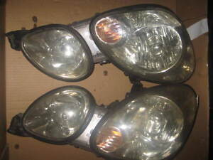 98 05 TOYOTA ARISTO LEXUS GS300 GS400 GS430 HEAD LIGHTS JDM