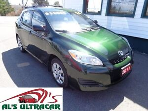 2011 Toyota Matrix AWD w/ power package only $75wk all in!