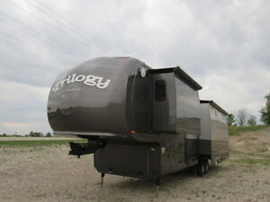 2012 Dynamax Trilogy 3800D3 5th Wheel