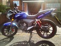 Keeway RKV 125 Low Mileage Excellent Condition! £850 ONO