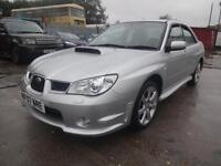 SUBARU IMPREZA WRX 2.5 TURBO~07/2007~MANUAL~4 DOOR SALOON~266 BHP~JUST 21k !!!!
