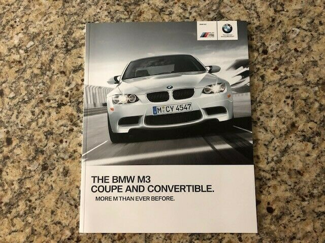 2011 BMW M3 Coupe and Convertible Dealer Sales Brochure US Edition