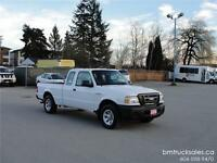 2008 FORD RANGER XL EXT CAB 2WD ONLY 59,000KM