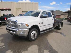 2016 Ram 3500 LARAMIE CREW CAB 4X4   - Bluetooth -  Chrome Trim