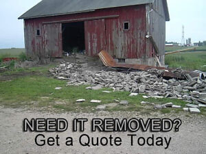 We Can Take Care of All of Your Home Demolition Needs