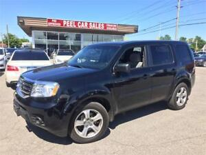 2013 Honda Pilot LX|BLACK ON GREY|AWD|8 PASSENGERS|