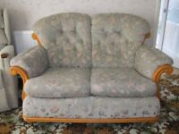 3 Piece Suite, two seater settee, two armchairs