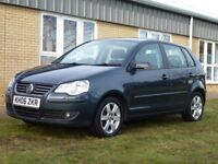 VOLKSWAGEN POLO 1.9 SPORT TDI 5d 99 BHP 1.9 TDI Sport- Air Conditioning (grey) 2006