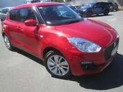 2017 Suzuki Swift AZ GL Navigator Red 1 Speed Constant Variable Hatchback Melrose Park Mitcham Area Preview