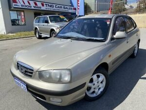 2002 Hyundai Elantra XD GLS Brown 5 Speed Manual Hatchback Wangara Wanneroo Area Preview