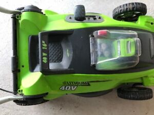 Greenworks  Lithium Batter Lawnmower