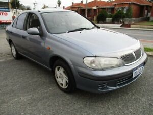 2003 Nissan Pulsar N16 ST Blue 5 Speed Manual Sedan West Perth Perth City Area Preview
