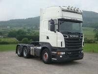 2011 Scania R730 6x4 Topline,Left Hand Drive,