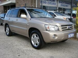 2004 Toyota Kluger MCU28R Grande (4x4) Gold 5 Speed Automatic Wagon Wangara Wanneroo Area Preview