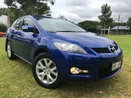 2008 Mazda CX-7 ER1031 MY07 Luxury Blue 6 Speed Sports Automatic Wagon Somerton Park Holdfast Bay Preview