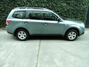2010 Subaru Forester S3 MY10 X AWD Green 4 Speed Sports Automatic Wagon Collingwood Yarra Area Preview