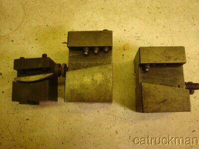 Hardinge Lathe Tool Holders 1 Complete 2 Missing Wedges