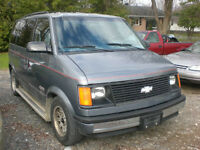 1989 CHEVROLET ASTRO PARTS AVAILABLE