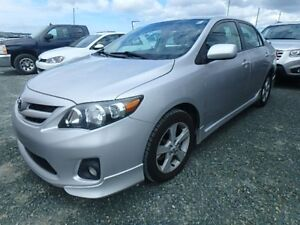 2012 Toyota Corolla S One Owner, no accidents S,S
