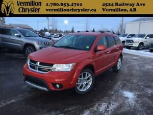 2015 Dodge Journey R/T, AWD, 7 Passenger, Heated Leather