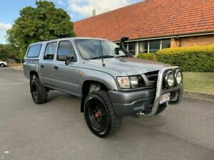 2004 Toyota Hilux KZN165R MY04 Grey 5 Speed Manual Dual Cab Chermside Brisbane North East Preview