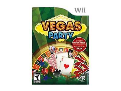 Vegas Party   Jeux Nintendo Wii   Complet   Cib