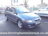2003 (03 Reg Mitsubishi Space Star 1.6 EQUIPPE AUTOMATIC 5DR MPV BLUE