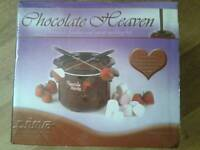 Boxed Prima chocolate heaven fondue & sweet making kit