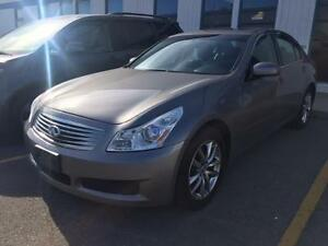 2007 INFINITI G35X AWD, LEATHER, BOSE STEREO, LOW KMS, SUNROOF!!