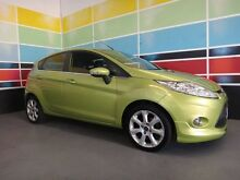 2010 Ford Fiesta WS Zetec Yellow 4 Speed Automatic Hatchback Wangara Wanneroo Area Preview