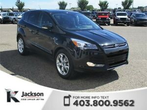 2013 Ford Escape Titanium 4WD - Nav, Heated Leather
