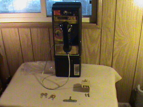 Personal Payphone 5-10-25 With Coin Container 2 Sets Keys + T Key ! CLEAN NICE!