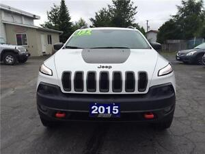 2015 Jeep Cherokee Trailhawk !! REDUCED SHOP & COMPARE !!