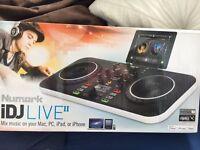 Numark iDJLIVE2 music mixer for Mac, PC, iPhone or iPad