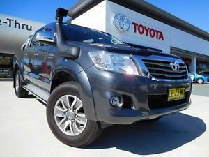 2014 Toyota Hilux KUN26R MY14 SR5 (4x4) Grey 5 Speed Automatic Dual Cab Pick-up Greenway Tuggeranong Preview