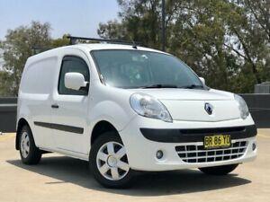 2012 Renault Kangoo F61 MY11 White 5 Speed Manual Van
