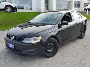 2012 Volkswagen Jetta Trendline 5-speed w/SNOWS!